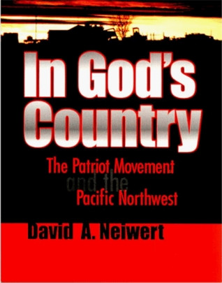 book cover with bold title text over red and black stripes topped by a sunset-silhouetted Western ranch