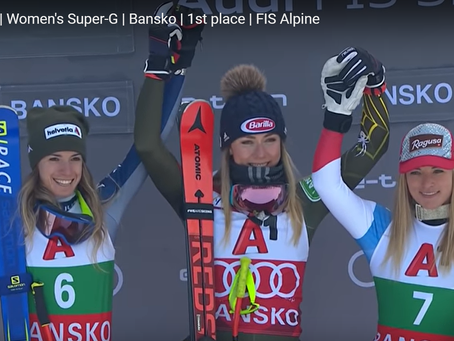 Another Victory for Mikaela Shiffrin at Bansko