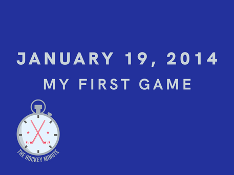 My First Game: Jan 19, 2014