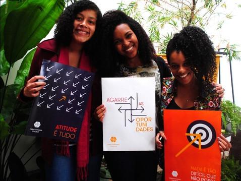 Somos a maior Rede de lideranças jovens engajadas em causas de impacto social do Brasil