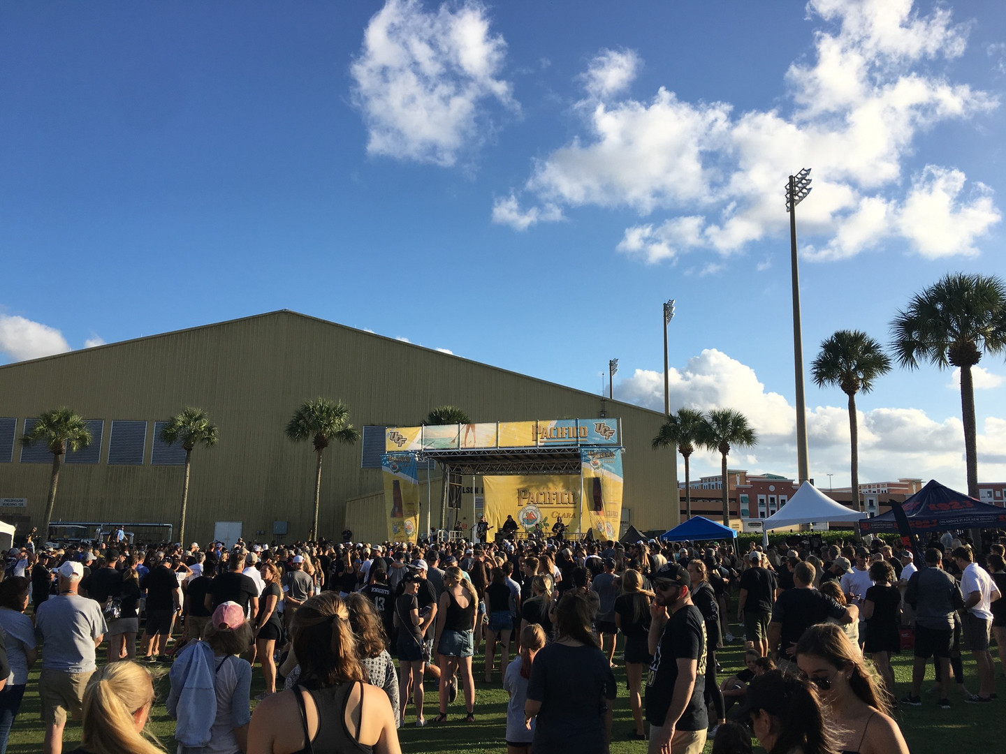 Mobile Stage: 24x20: UCF Football Tailgate Concerts