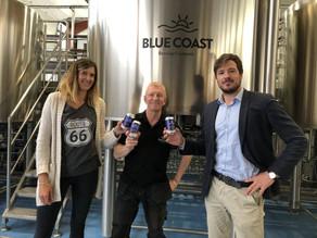 Blue Coast Brewery teste la canette