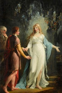 Calypso Receiving Telemachus and Mentor in the Grotto (1791) William Hamilton