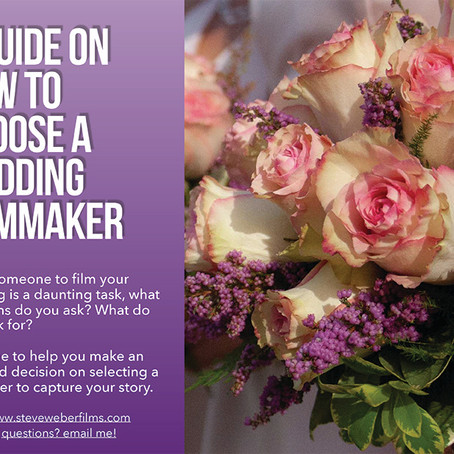 how to hire a wedding filmmaker
