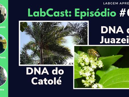 Qualidade do DNA do Catolé e Juazeiro – LabCast: Episódio #02