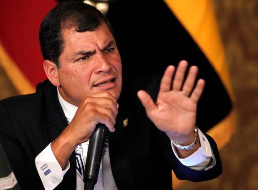 Juez ordena notificación roja contra Rafael Correa y procesados del Caso Sobornos