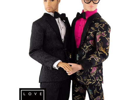 The First Gay Male Couple Fashion Doll Wedding Gift Set is Released