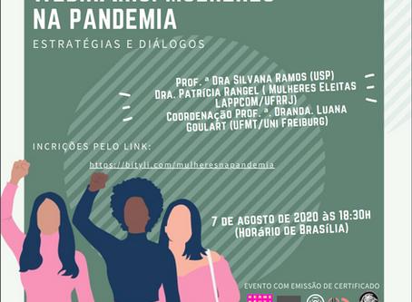Mulheres na Pandemia: estratégias e diálogos
