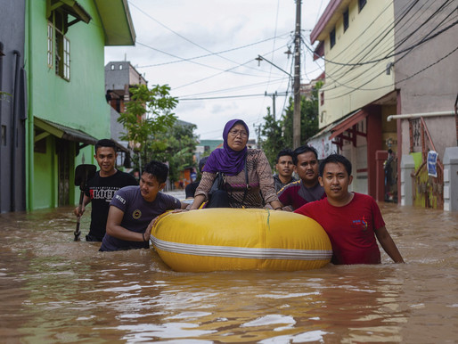 Rising waters : Indonesia's Capital Could be Moved