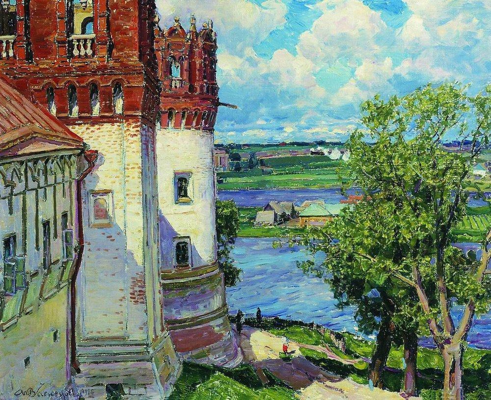 Новодевичий монастырь. Башни (1926 год)