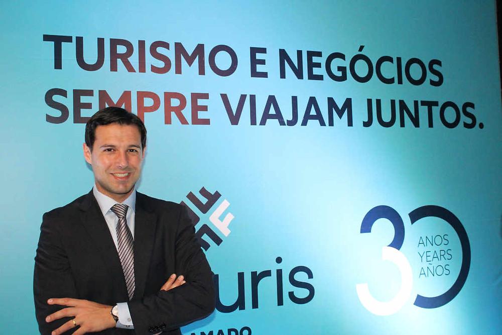 """O CEO da FESTURIS, Eduardo Zorzanello, destaca que  """"diante do momento econômico, que ainda está se reabilitando, o mercado turístico precisa se reinventar""""."""