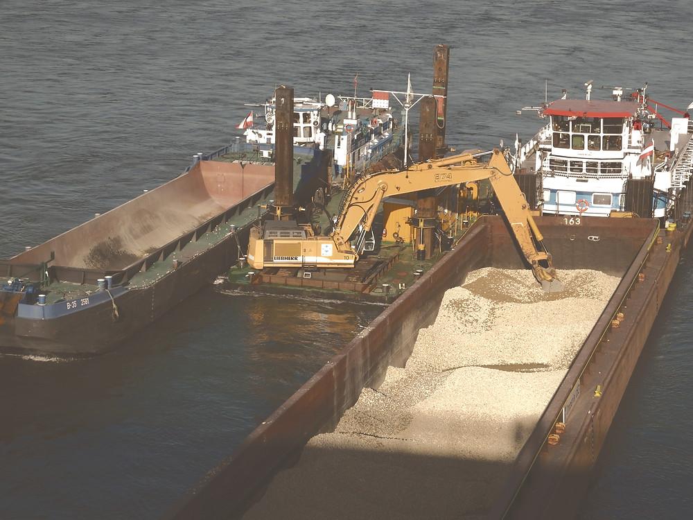 Heatmap Schiffsverkehr Donau