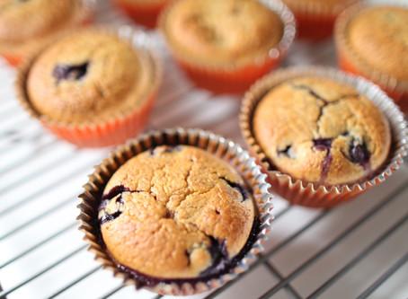 Homemade Blueberry Muffins!