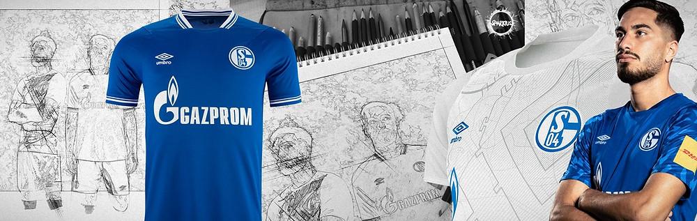 FC Schalke 04   Initial Sketches   SPARKIUS Art