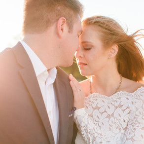 Renée + Justin's DC Sunrise Engagement