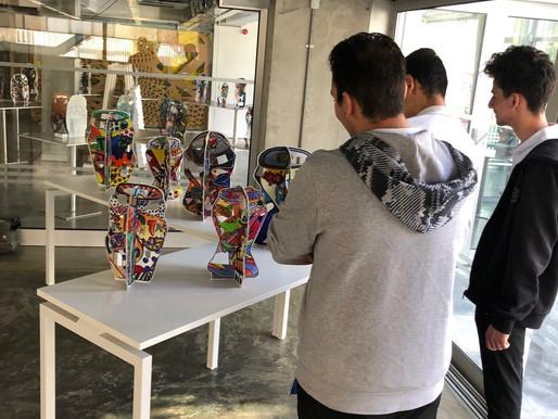 """Επίσκεψη στην Έκθεση Τέχνης """"I CAN"""""""