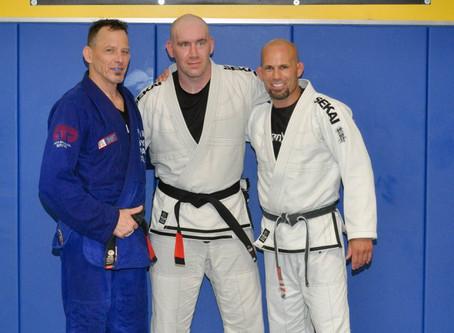 Dojo 1's New Black Belt!