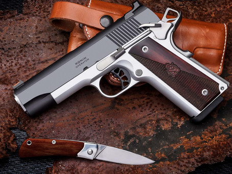 """Springfield Armory® Introduces Ronin™ Operator ® 4.25"""" 1911"""