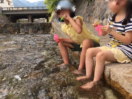 7月21日 灘区 初夏の川遊び🏞