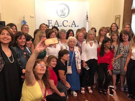 La Federación Argentina de Colegios de Abogados votó por la equidad de género