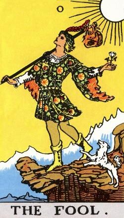 Arcano do Louco - Tarot Rider-Waite