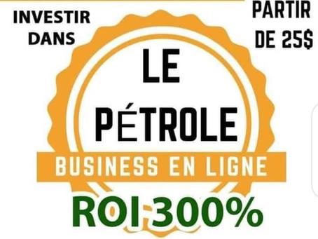 PETRONPAY INVESTIR DANS LA SPECULATION DES BARILS DE PETROLE 300% AVEC OU SANS PARRAINAGE