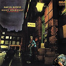 Album A Day #38 David Bowie, Ziggy Stardust (1972)