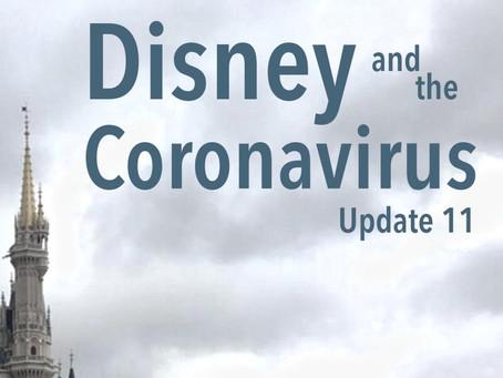 Disney and the Coronavirus - Update 11