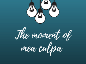Cultivating Respect: The moment of mea culpa