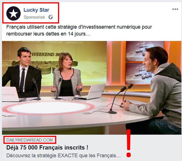 Lucky Star Facebook