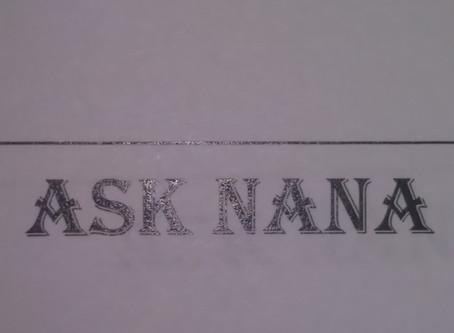 Lockdown Tunes  & Ask Nana Live