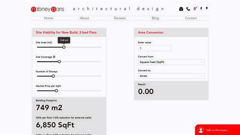NEW! Property Developer's Viability Calculator Tool!