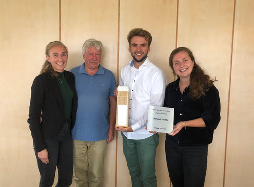 Natural Yachts wins Boat of the year – Start-up award 2020