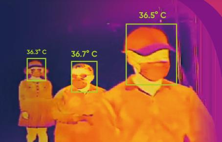 Caméras Thermiques : Elles détectent les personnes fiévreuses