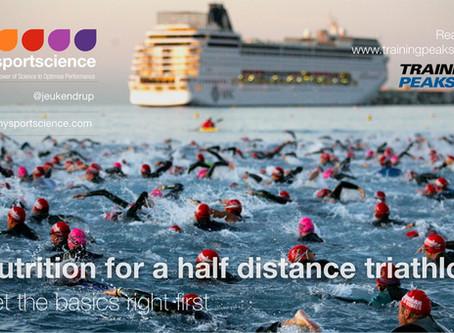 Nutrition for a half distance triathlon