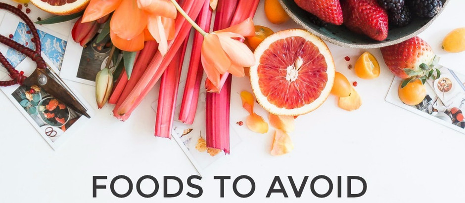 FOOD TO AVOID FOR ACNE-PRONE SKIN