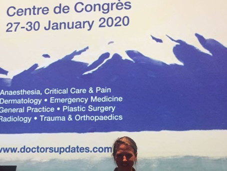 """Presentation at the Doctors Conference on """"How to Stay Fit"""" from a physiotherapists role"""