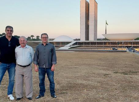 Representantes da Comunidade Terapêutica Nova Jornada, estiveram em Brasília.