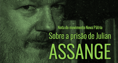 Nota do movimento Nova Pátria sobre a prisão de Julian Assange