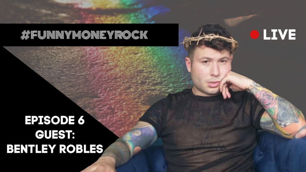 Bentley Robles To Appear On #FunnyMoneyRockLive