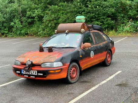 """Car Hunted"""