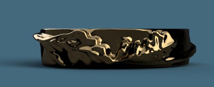 Gioiello custom creato da Astrati dalle Metamorfosi di Ovidio