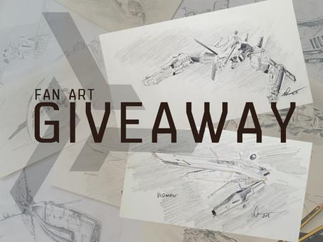 Triglavian Sketch Giveaway!