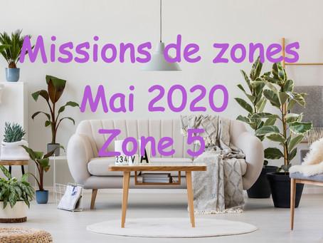 Zones : Missions semaine 22 - Zone 5