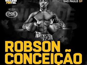 Boxe: Robson Conceição volta a lutar