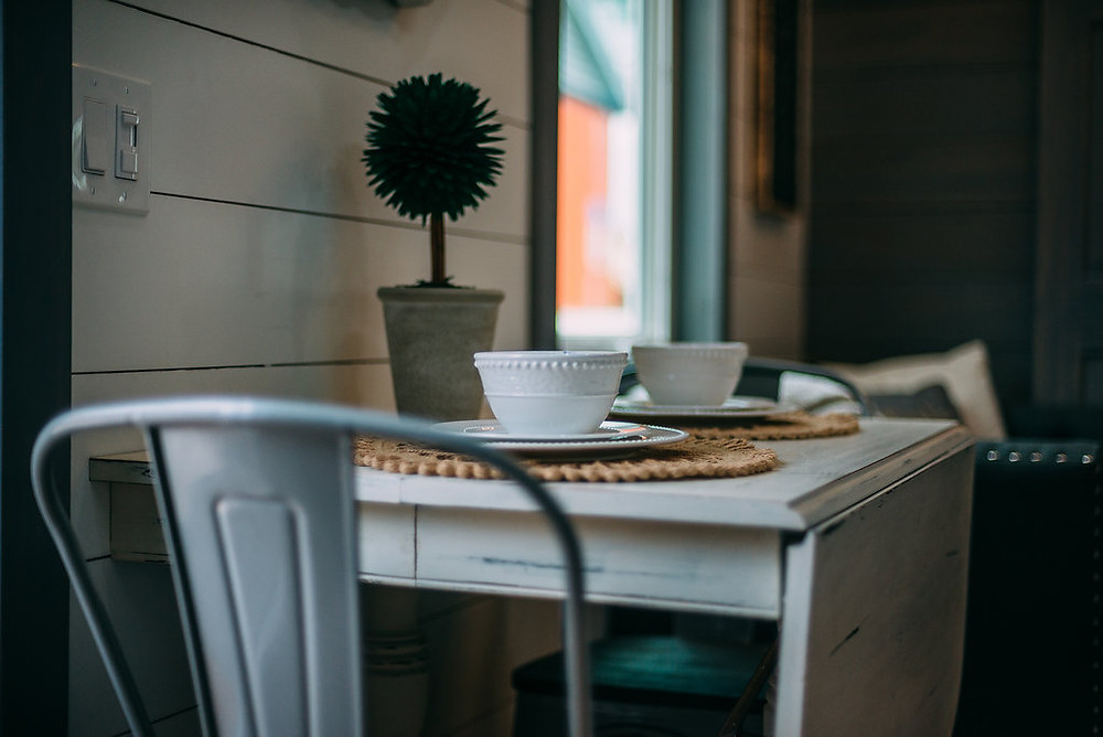 tiny house dining table