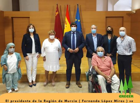 Reunión Famdif - Presidente de Murcia ( 1-Sep-2020 )