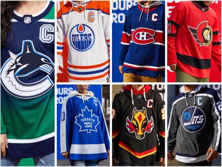 NHL Reverse Retro jersey grades