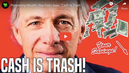 "🎬 Data Dash: Preserving Wealth | Ray Dalio Says ""Cash Is Trash"""