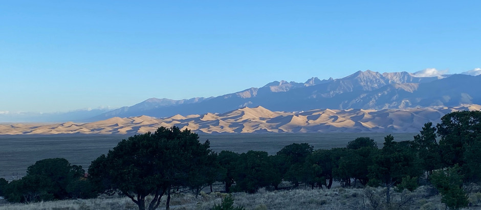Sandscapes of the Sangre de Cristos